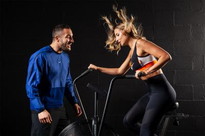 Giorgio Merlino e Veronica Ferraro: workout per due