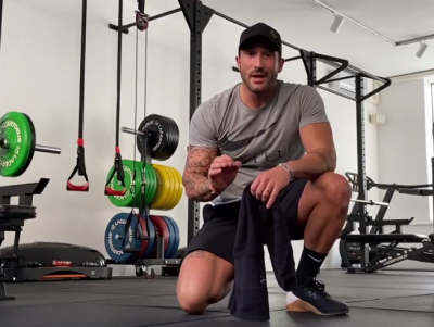 30 minuti di workout full body ad alta intensità: il video di Giorgio Merlino