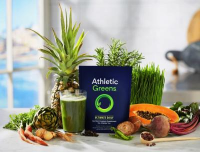 Athletic Greens, più energia in un concentrato di salute
