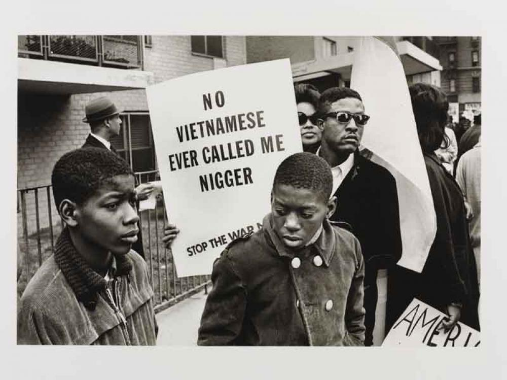 'Harlem Peace March (New York City, 1967)', 1967 Builder Levy © Victoria and Albert Museum